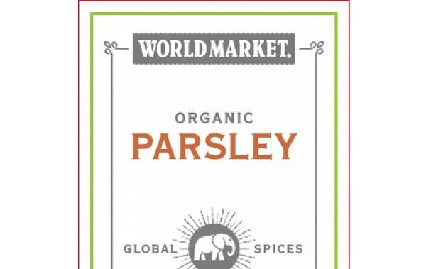 World Market Organic Parsley