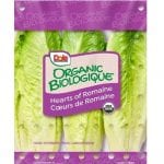 Dole Organic Romaine Hearts