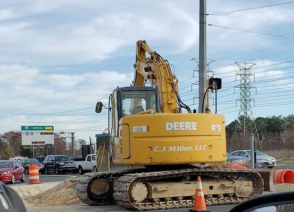 Honeygo Boulevard White Marsh Boulevard Construction 20201119