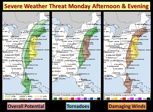 NWS Eastern Severe Weather Threat 20201130