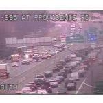 I-695 Crash Providence Road 20210115