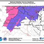 NWS Baltimore Winter Weather 20120125a