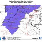 NWS Baltimore Winter Weather Advisory 20210214