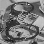 Robbery Money Handcuffs