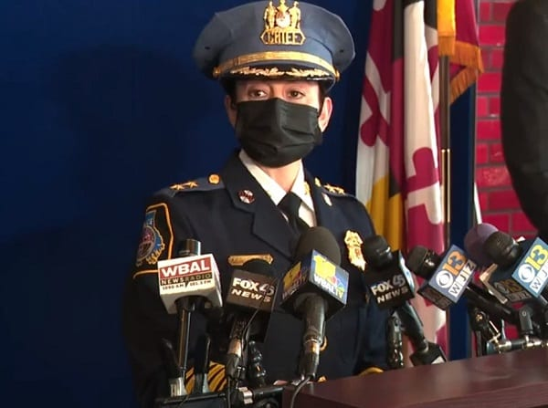 Baltimore County Police Chief Melissa Hyatt Press Conference 20210329