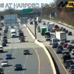 I-695 Disabled Tractor Trailer Harford Road 20210326