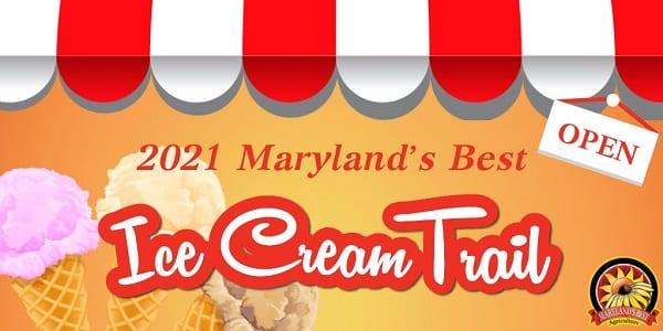 2021 Marylands Best Ice Cream Trail