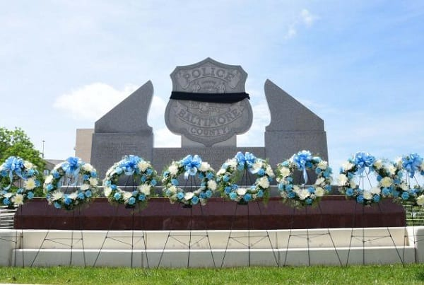 Baltimore County Police Memorial