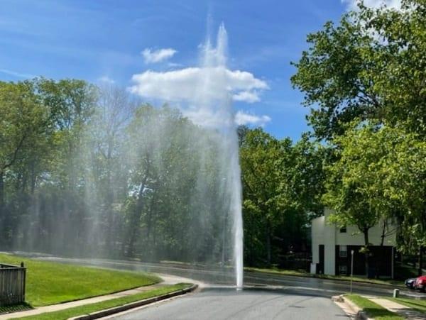 Beaconsfield Road Water Main Break 20210506