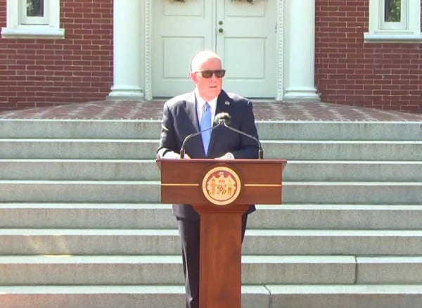 Governor Larry Hogan Maryland COVID Announcement 20210512