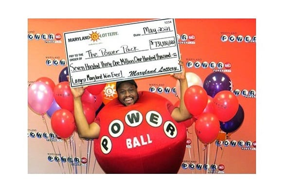 Maryland Lottery Powerball Power Pack 20210526