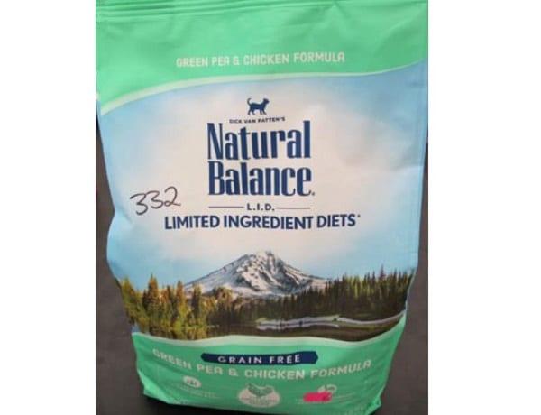 Natural Balance Cat Food Pea Chicken