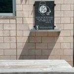 White Marsh Precinct Picnic Table Plaque