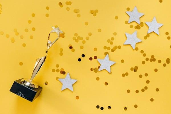 Award Celebration Confetti