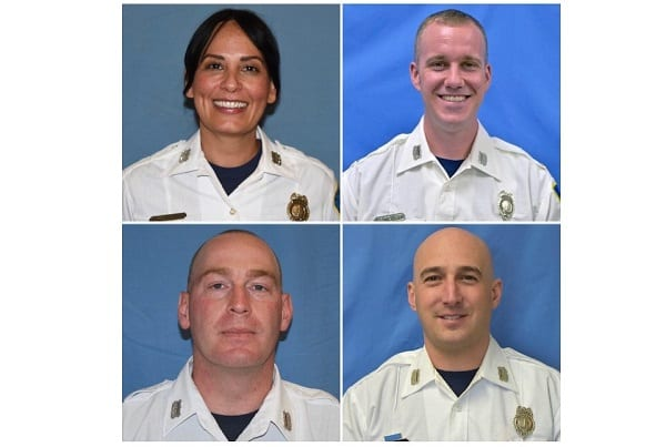 Baltimore County Fire Department Promotions 20210625