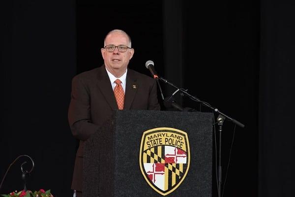 Governor Larry Hogan Maryland State Police Trooper Graduation 20210716