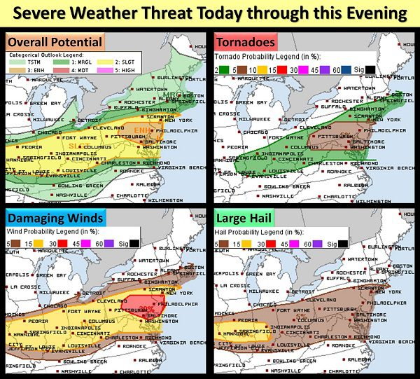 NWS Eastern Severe Weather Threat 20210729