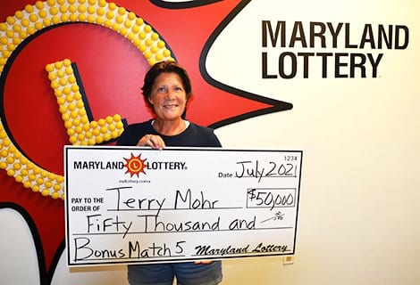 Nottingham MD Maryland Lottery Bonus Match 5 Winner 20210719