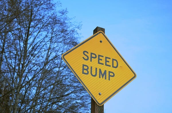 Speed Bump Traffic Calming