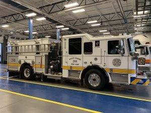 WMVFC Fire Engine 600w