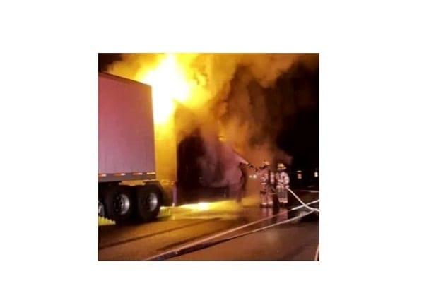 White Marsh Truck Fire 20210706