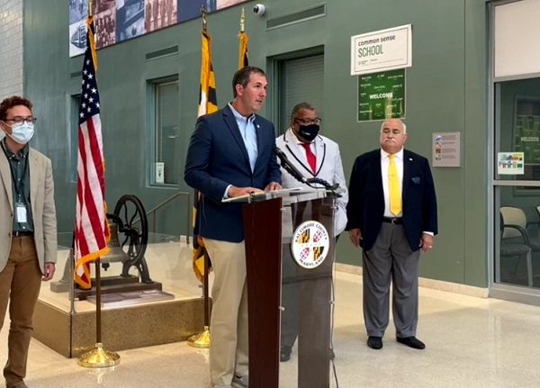 Baltimore County Olszewski Vaccination Announcement 20210806