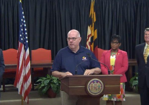 Governor Hogan Broadband Announcement 20210820