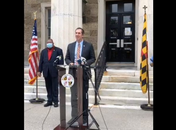 Baltimore County Jonny Olszewski Announcement 20210909