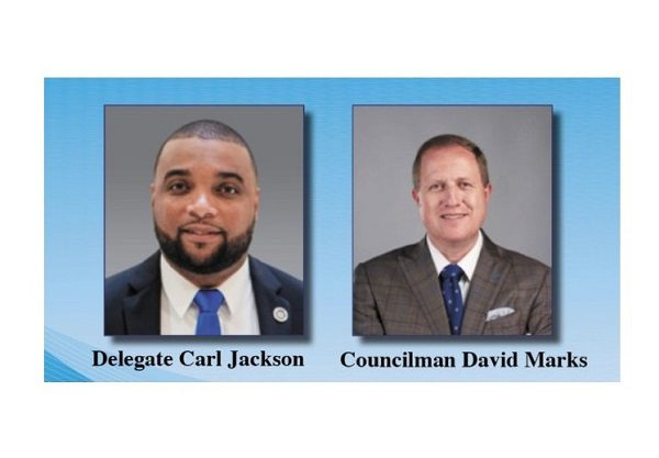 Delegate Jackson Councilman Marks Dunfield Town Hall 202109