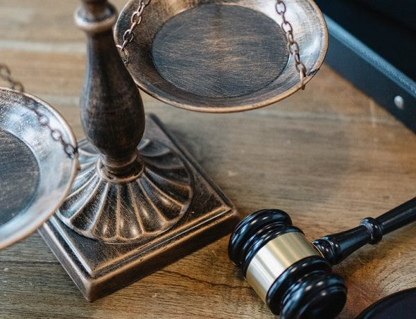 Gavel Scales Justice Crime