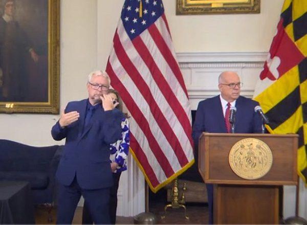 Governor Hogan Announcement 20210908