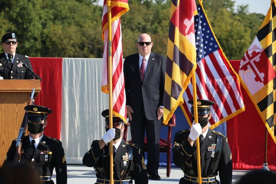 Governor Hogan Maryland National Guard Fallen Warrior Ceremony 20210911